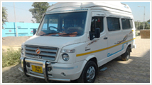 14 Seater Tempo Traveller Hire